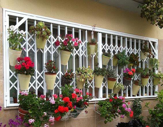 Rejas de ballesta para puertas y ventanas exteriores - Rejas exteriores ...