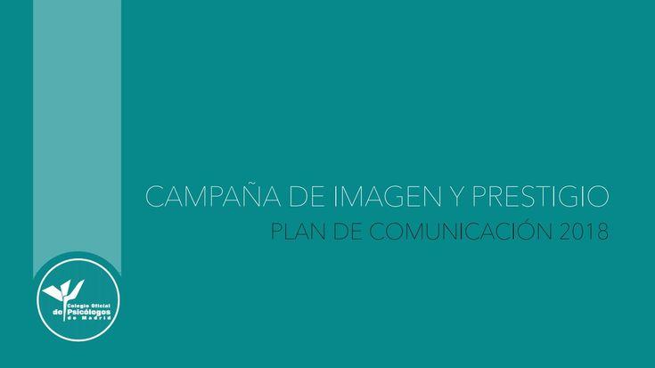 Campaña de Imagen y prestigio Colegio Oficial de Psicólogos de Madrid