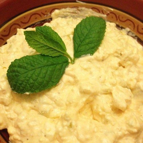 Τυροσαλάτα με πιπεριές (Ensalada de pimientos)