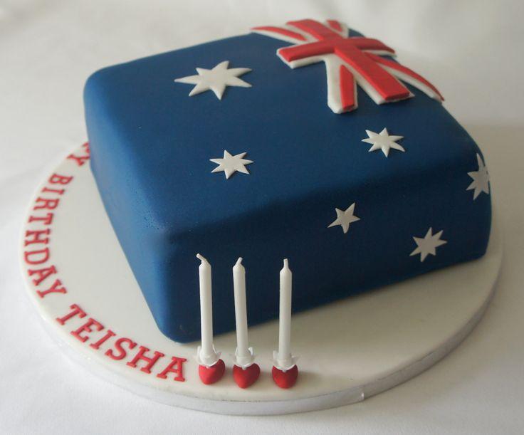 Uk Flag Birthday Cakes To Order