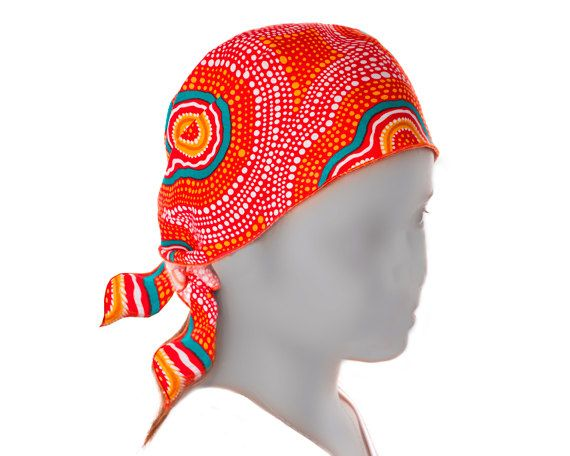 Australian Aboriginal Art Bandana by AboriginalOzArt on Etsy
