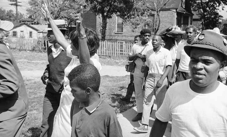 The September 1966 Cicero protest against housing discrimination was one of the first nonviolent civil-rights campaigns launched near a major city.