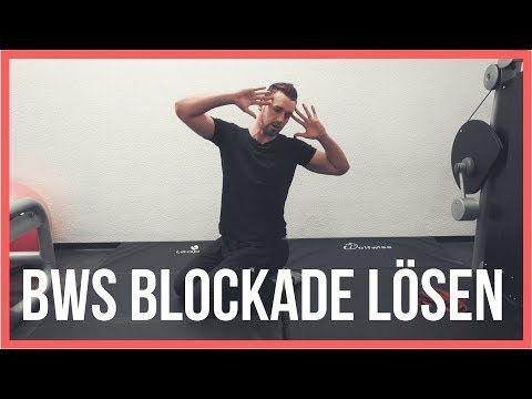 BWS Blockade selber lösen | Übungen gegen Schmerzen im Rücken | CoachPatrick 2017 - YouTube