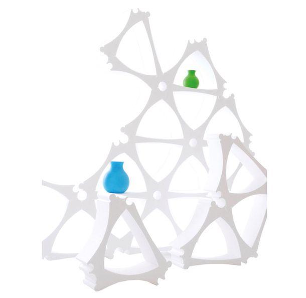 Модульный стеллаж U Shelf, пластик, Benjamin Peter Design