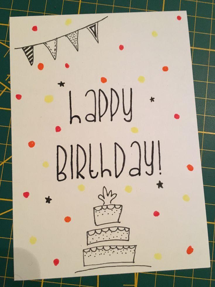 обладателей самозванных самодельная открытка на день рождения рисунок традиционными для