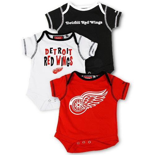 Detroit Red Wings Red, Black,