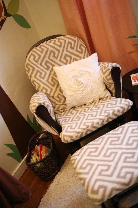 modern glider diy upholstery