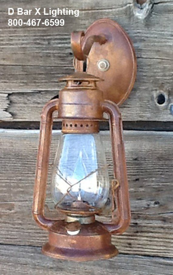 Dx806 13 Rustic Lantern Wall Sconce