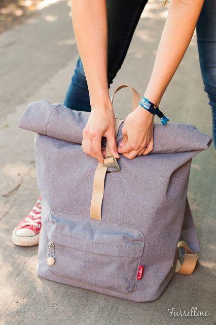 Einen richtigen Rucksack nähen – Das geht!