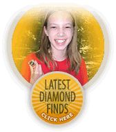 Crater of Diamonds State Park- if you find any diamonds or other gems, you get to keep them!