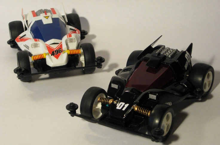 Dash 01 Super Emperor restored and restyled by Aran (+ original) | Mini 4WD | #Mini4WD | #Tamiya