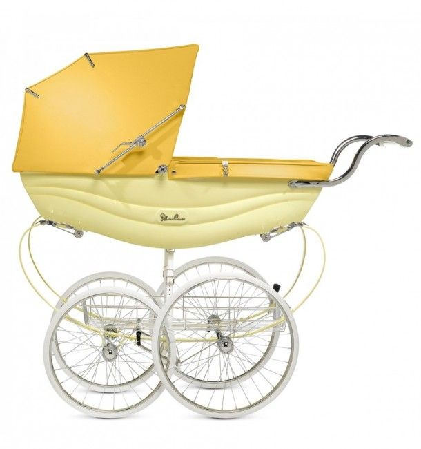 The Silver Cross Vintage Balmoral in sorbet yellow