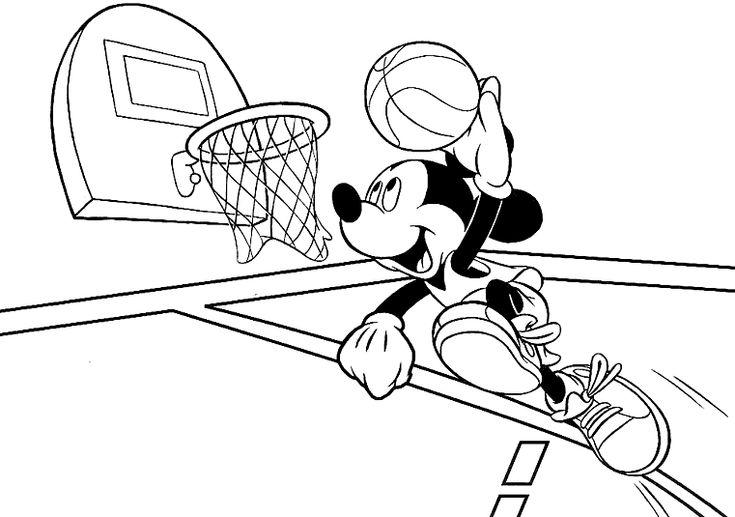 8 besten Ausmalbilder Basketball Bilder auf Pinterest