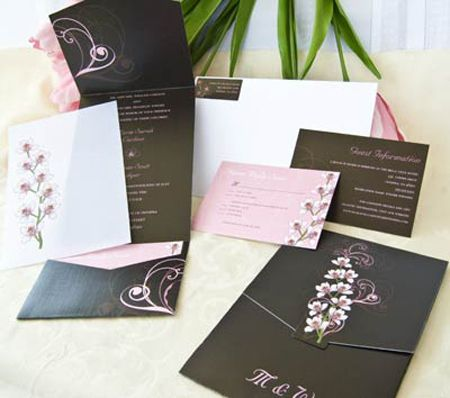 Superior The Details Of Pock Wedding Invites 3
