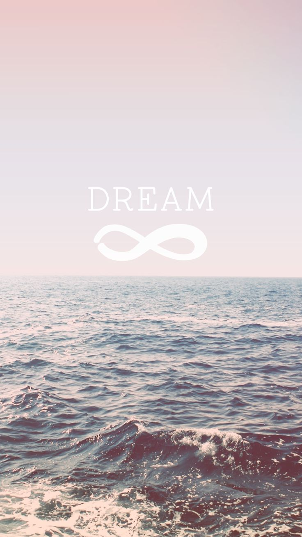 Dream + Infinity | iPhone Wallpaper