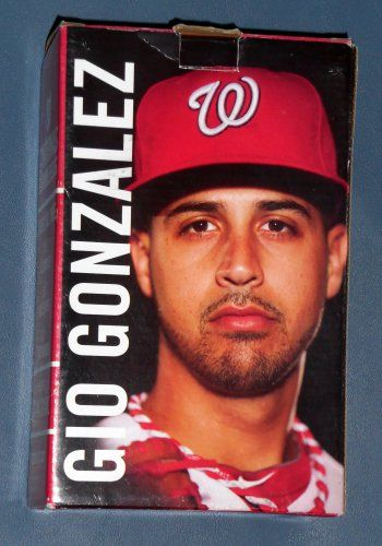FOR SALE Gio Gonzalez 2013 Bobblehead Washington Nationals Pitcher Baseball…