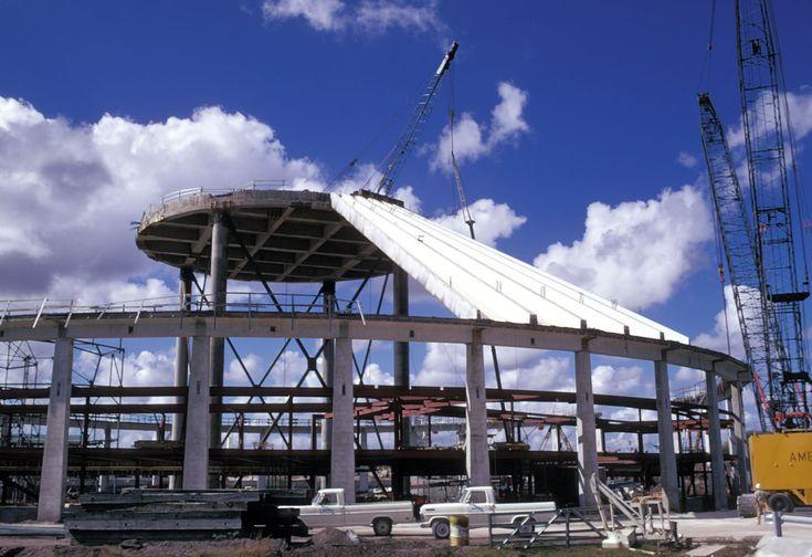 Building Space Mountain at Walt Disney World