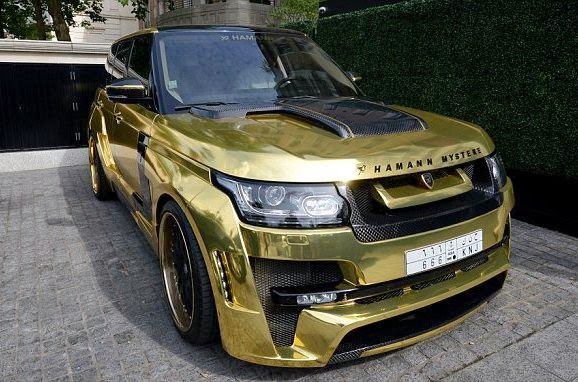 Welcome to Olamilekan Dada's Blog: Checkout this Gold Range Rover with plate number '...