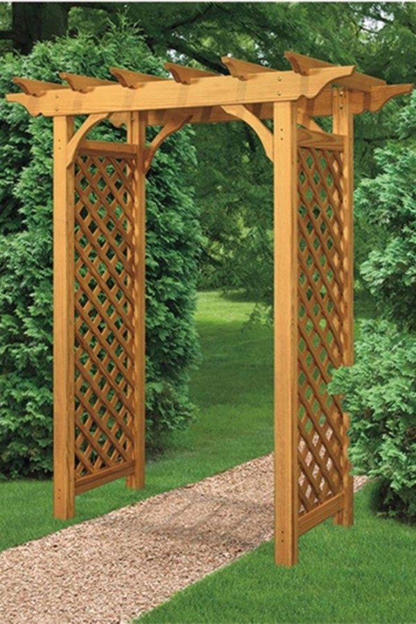 10 Beautiful Diy Garden Arbor Plans To Build Yourself To Complement Your Gardens Garden Arbors Design No 12949 Luxury Garden Garden Arbor Garden Trellis