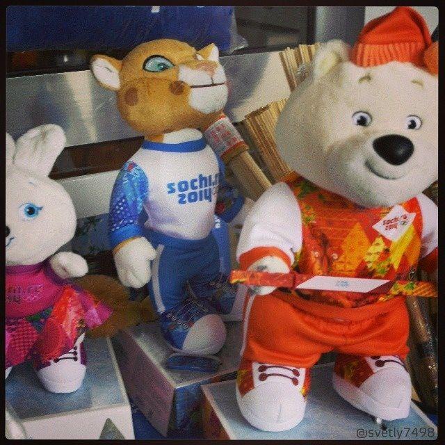 Sochi Olympics mascots