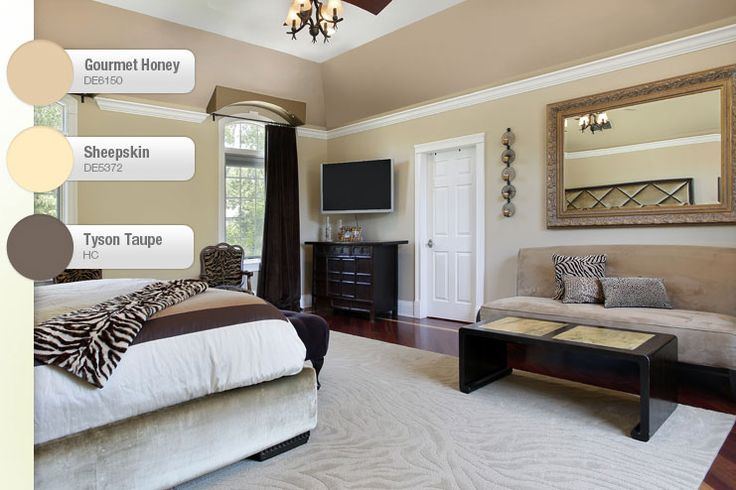 9 best rustic tray ceilings images on pinterest master for Elegant taupe paint