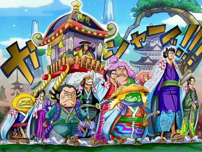 kozuki oden nine red scrabbards アニメ 漫画 ワンピース