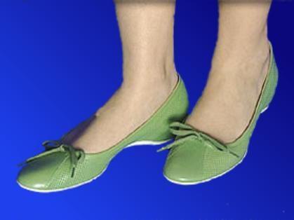 La ballerina è una scarpa ispirata alle scarpe da danza utilizzate dalle ballerine di danza classica (da cui il nome)