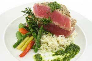 Barbecued Bluefin Tuna