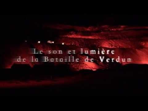 Des flammes à la lumière, le spectacle de Verdun