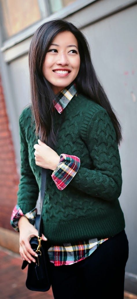Decent and cozy fall fashion style