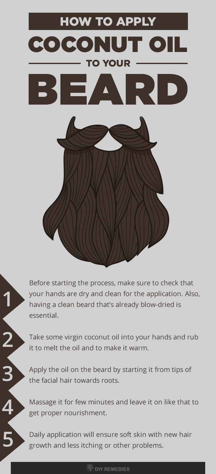 coconut oil for beard how to use coconut oil for beard