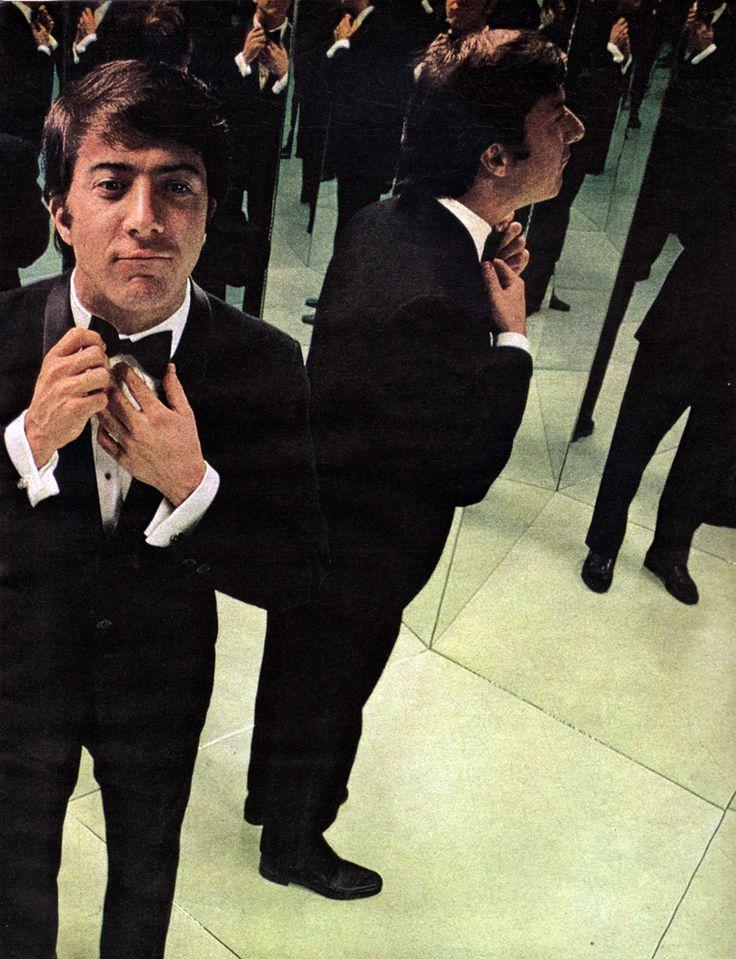 Dustin Hoffman Dapper in a bow tie!