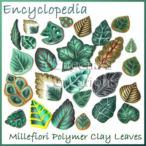 Polymer Clay Canes Tutorials   Leaf Canes Tutorial, Polymer Clay   Flickr - Photo Sharing!
