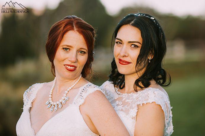two brides, same sex wedding