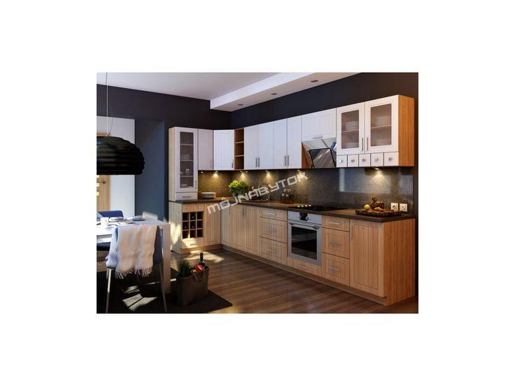 Kvalitná kuchynská zostava Iwona v klasickom štýle s možnosťou výberu hneď z niekoľkých farebných prevedení.