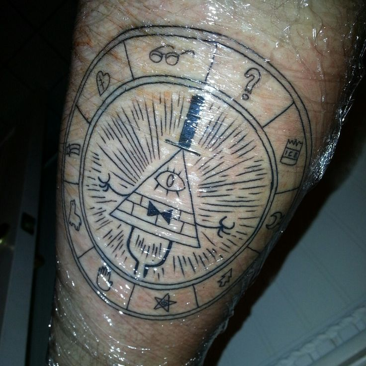 Dipper Pines Tattoo Design