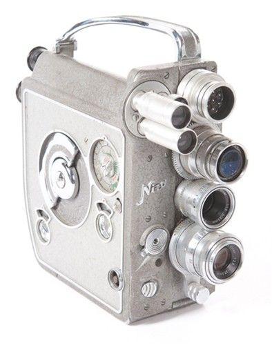 Vintage Nizo 8mm camera
