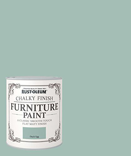 Rust Oleum Chalky Finish Furniture Paint Duck Egg