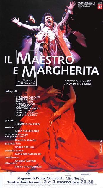 2003 - Compagnia Teatro di Castalia, Teatro Auditorium, Trento, Italy
