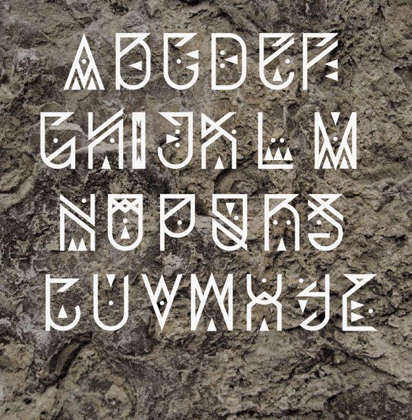 Gray Alphabet Font: 59 Best Typefaces Images On Pinterest