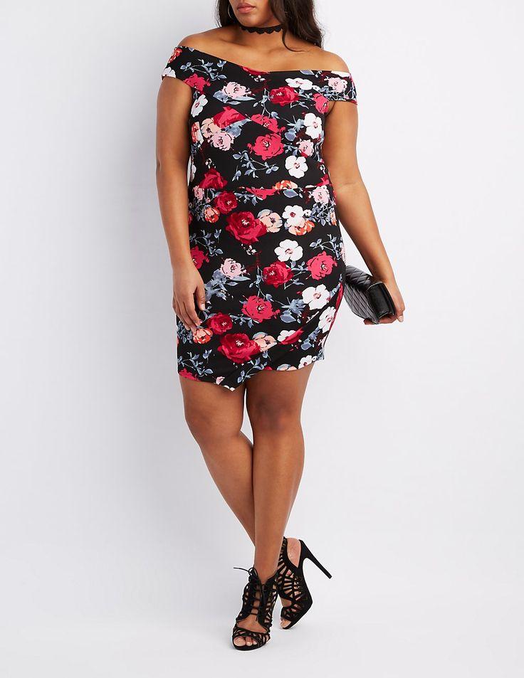 398 best Dresses - Bodycon - Plus Size images on Pinterest