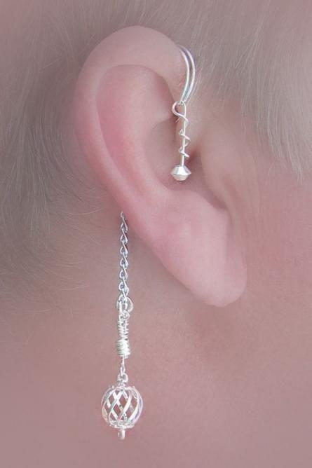 簡単にできちゃう♪耳を素敵に飾るイヤーフックの作り方 - Weboo