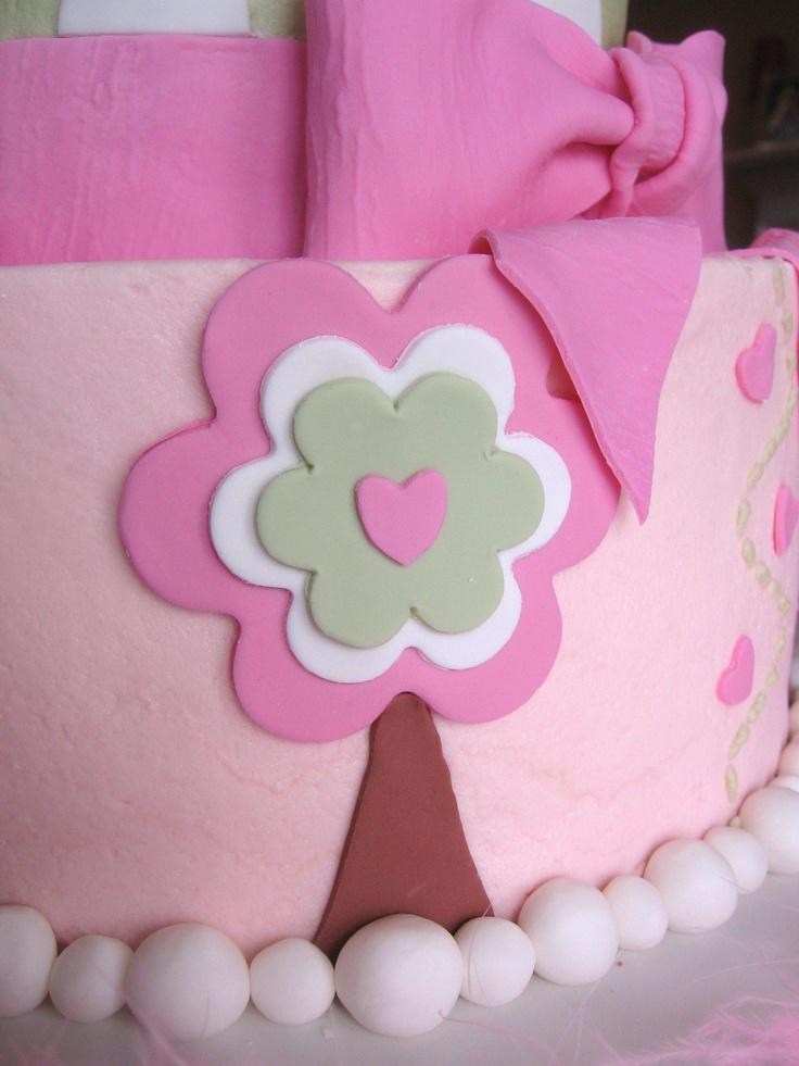 Birdie First Birthday Cake