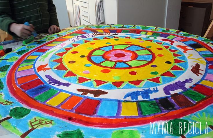 Mamà recicla: Mandala