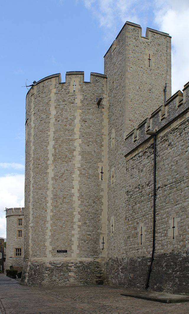 Beauchamp Tower, Tower of London. <<Throughout its long history the Beauchamp Tower has been used on and off to house high ranking prisoners. Its large size and close location to the Lieutenant's Lodgings, now the Queen's House, made the Beauchamp Tower perfect for housing important prisoners. Lady Jane Rochford, lady-in-waiting to Queen Catherine Howard, the fifth wife of King Henry VIII, was interogated in the Beauchamp Tower prior to the Queen's trial.>>