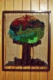 Resultado de imagen para telares decorativos de arboles