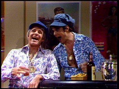 Wild & Crazy Guys! This series made me laugh til tears streamed down my face.... Back when Saturday Night Live was still funny.