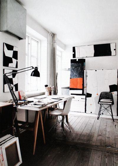 space, windows, floor