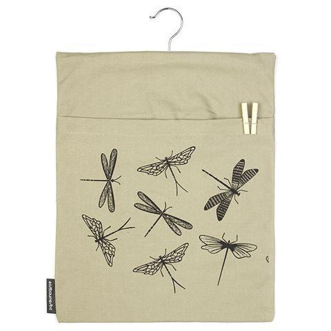 ART - Hanging Peg Bag Dragonflies