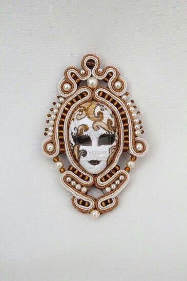 .Cameo idea - soutache